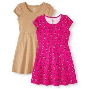 Girls Summer Dress, size XXL 18 (Pink Only)
